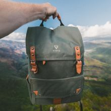 Vinta Canvas Backpack